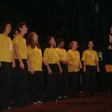 Coral Tece Voz no Centro Cultural Humberto Mauro
