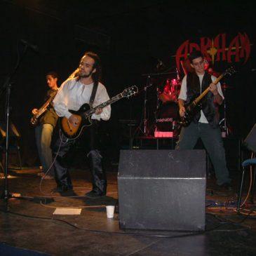 Noite de rock no Instituto Francisca de Souza Peixoto