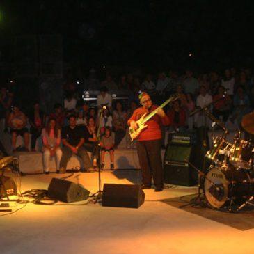 Afonso Vieira em show musical
