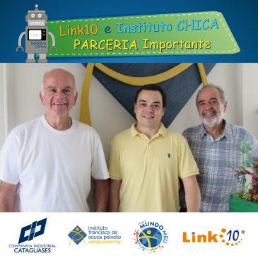 Instituto Chica e Link10, juntos pela educação!