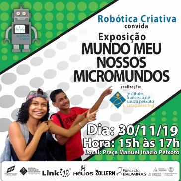 Exposição dos Projetos da Robótica Criativa